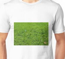 Green grass pattern. Unisex T-Shirt