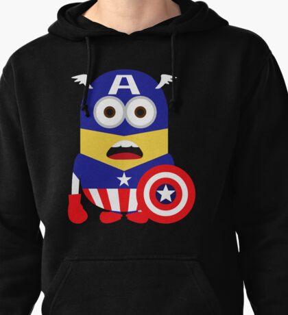 Superhero Minion Pullover Hoodie