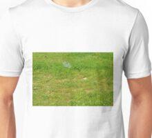 Green grass pattern. Unisex T-Shirt