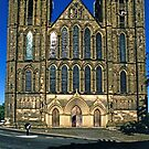 West Front, Ripon Cathedral, late evening by Priscilla Turner