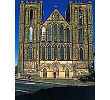 West Front, Ripon Cathedral, late evening Photographic Print