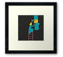 Behind the Stars Framed Print