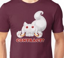 Kyubey - Contract? Unisex T-Shirt