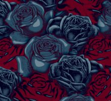 Stop and Smell the Roses CRIMSON MOONLIGHT Sticker