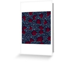 Stop and Smell the Roses CRIMSON MOONLIGHT Greeting Card