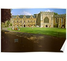 The Bishop's Palace, Wells Poster