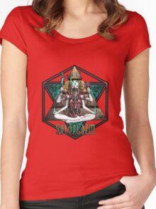 Ektoplazm Metamorphosis Women's Fitted Scoop T-Shirt