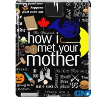 how I met your mother iPad Case/Skin