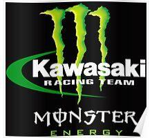 kawasaki racing Poster