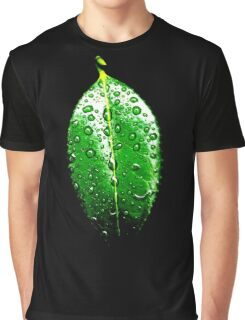 Weeping Droplets Graphic T-Shirt