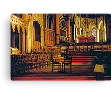 Canterbury Cathedral, Choir and Sanctuary 1961 Canvas Print