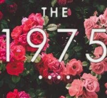 floral The 1975  Sticker