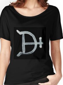 Alchemical Symbols - Magnesium Two Inverted Women's Relaxed Fit T-Shirt