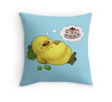 Tubby Chocobo Throw Pillow