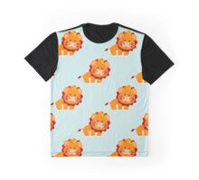 Baby pattern with a cute lion Graphic T-Shirt