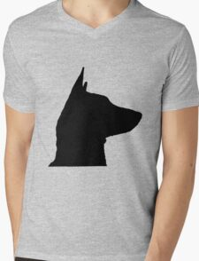 Dog face silhouette T-Shirt