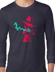 Smoke Calvin And Hobbes Long Sleeve T-Shirt