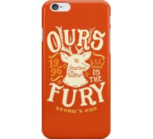 House of Fury iPhone Case/Skin