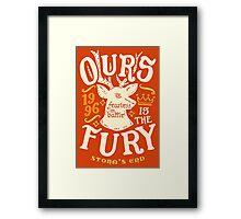 House of Fury Framed Print
