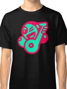 Ladie Music Cartoon Classic T-Shirt