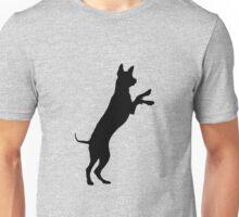 Entlebucher mountain dog silhouette Unisex T-Shirt