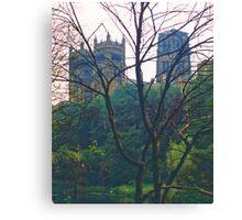 Durham Cathedral, Summer Evening 2 Canvas Print