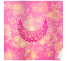 Sailor Chibi Moon Chibi Moon Symbol Poster