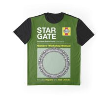 Haynes Manual - Stargate - T-shirt Graphic T-Shirt