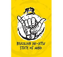BJJ state of mind 2 Photographic Print