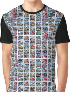 Classic Car Chrome Collection  Graphic T-Shirt