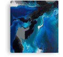 Deep blue Sea Sea Sea Canvas Print