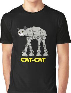 Robot Cat Graphic T-Shirt