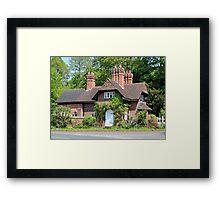 Cottage in Whitegate Cheshire Framed Print