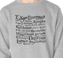Harry Potter Magic Spells mantra Pullover