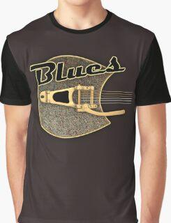 Blues  rusty  Guitar Graphic T-Shirt