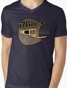 Blues  rusty  Guitar Mens V-Neck T-Shirt