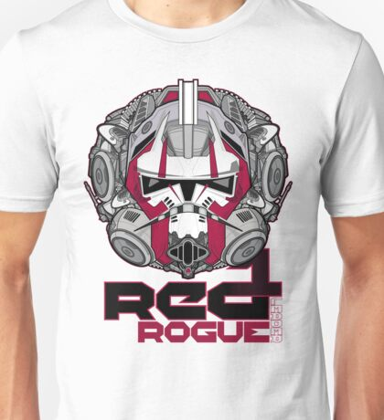 Star Wars RED 1 Rogue Leader Unisex T-Shirt