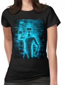 Virtual Reality User Womens Fitted T-Shirt
