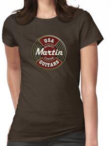 Martin guitars Womens Fitted T-Shirt