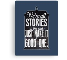 Stories Canvas Print