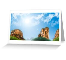 WUYI MOUNTAIN (CHINA) Greeting Card