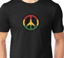 Peace,Love,Music Rebel Unisex T-Shirt