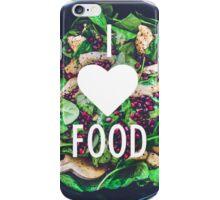 I heart food iPhone Case/Skin