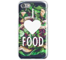 I heart food iPhone Case/Skin