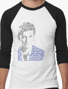 David Tennant as Doctor Who the Time Lord Triumphant  Men's Baseball ¾ T-Shirt