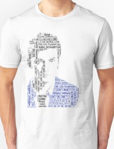 David Tennant as Doctor Who the Time Lord Triumphant  T-Shirt