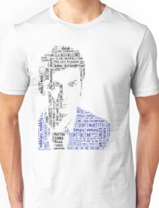David Tennant as Doctor Who the Time Lord Triumphant  Unisex T-Shirt