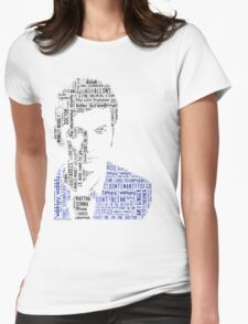 David Tennant as Doctor Who the Time Lord Triumphant  Womens Fitted T-Shirt
