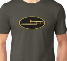 Gold Trombone Unisex T-Shirt