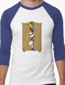 Skeletons in the Cupboard! Men's Baseball ¾ T-Shirt